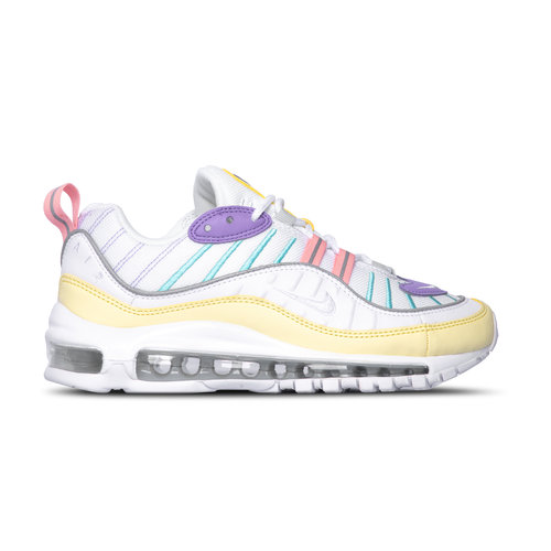W Air Max 98 Luminous Green White Atomic Violet AH6799 300