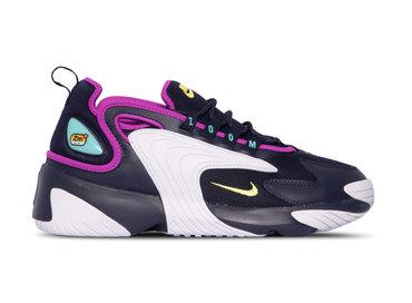 Nike Zoom 2K  Blackened Blue Dynamic Yellow White AO0269 401