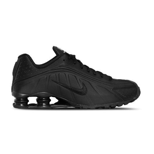 Shox R4 Black Black Black White 104265 044