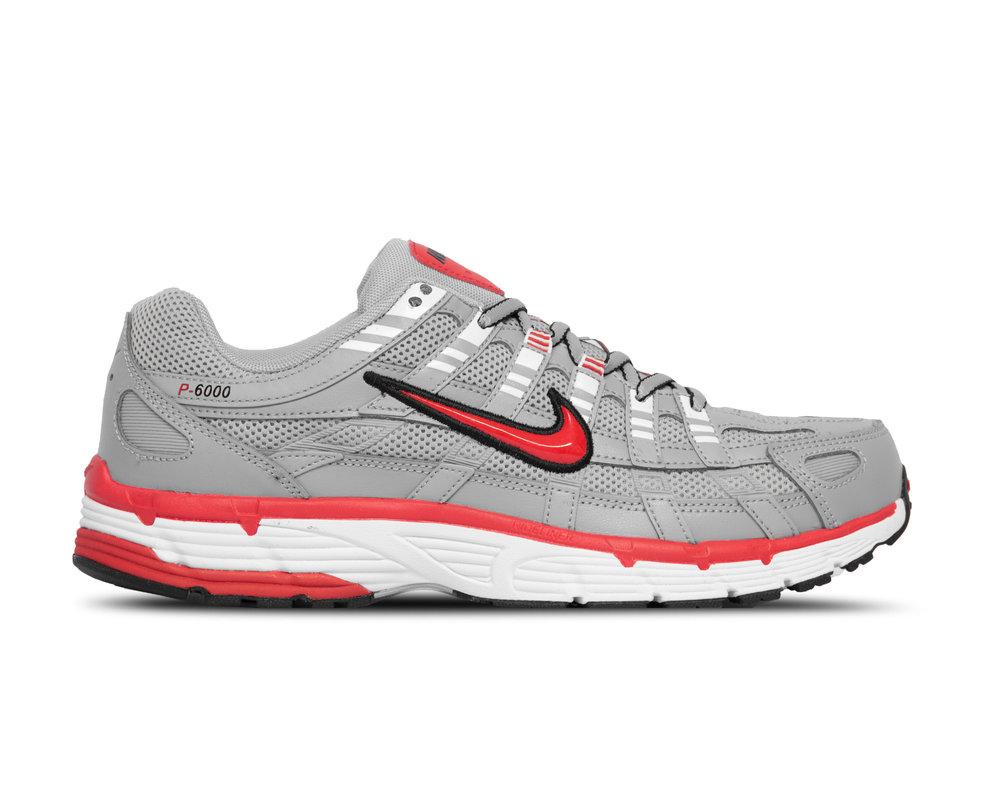 Nike P 6000 Silver Flt Silver University Red CD6404 001
