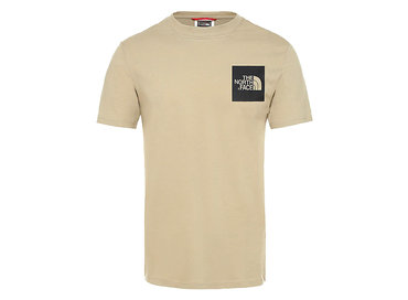 The North Face Fine Tee Twill Beige T0CEQ5ZDL