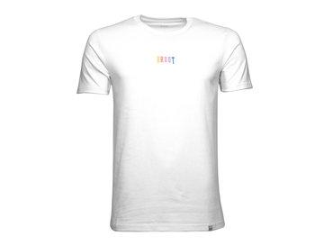 Bruut Pride Embroided Logo Tee White HFD027