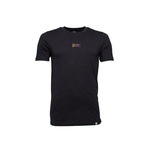 Pride Embroided Logo Tee Black HFD028