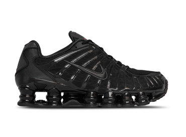 Nike Shox TL Black Black Metallic Hematite AV3595 002
