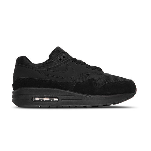 Wmns Air max 1 Black Black Black White  319986 045