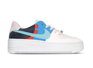 Nike Air Force 1 Sage Low Lx Platinum Tint Light Aqua Obsidian BV1967 002