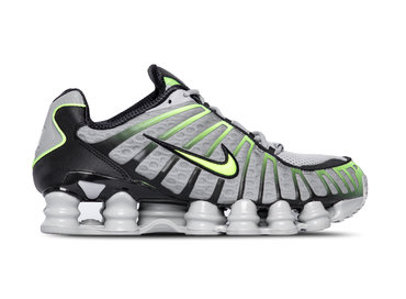 Nike Shox TL Wolf Grey Lime Blast Black AV3595 005