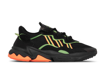 Adidas Ozweego Core Black Green Hireco EE5696