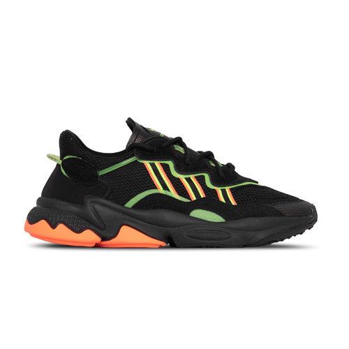 Ozweego Core Black Green Hireco EE5696