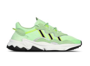 Adidas Ozweego Glow Green Core Black Solar Yellow EE6466
