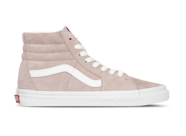 Vans SK8 Hi Pig Suede Shadow Grey True White VN0A4BV6V791