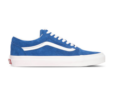 Vans Old Skool Pig Suede Princes Blue True White VN0A4BV5V781