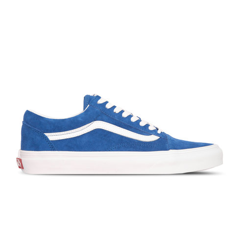 Old Skool Pig Suede Princes Blue True White VN0A4BV5V781