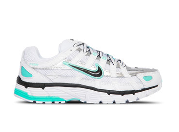 Nike W P 6000 White Black Metallic Silver Light Aqua BV1021 104