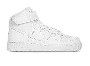 Nike WMNS Air Force 1 High White White White White 334031 105