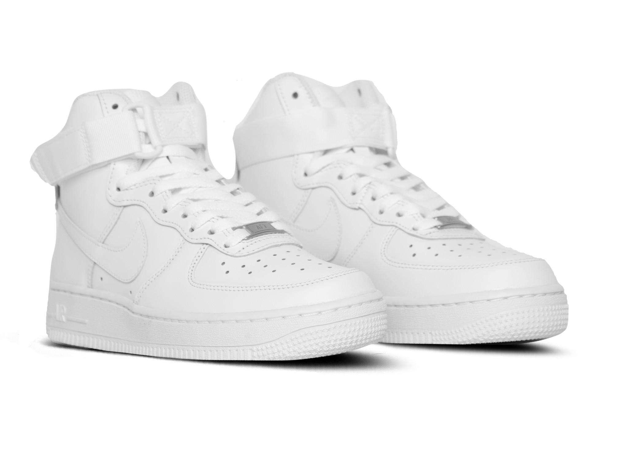 WMNS Air Force 1 High White White 334031 105 Bruut Online