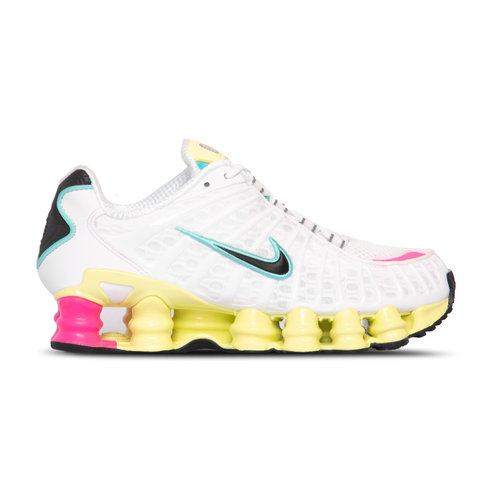 Shox TL White Black Luminous Green Bright Violet AR3566 102