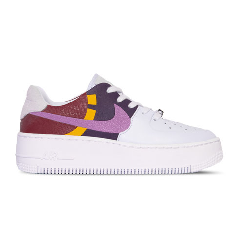 Air force 1 Sage Low LX Football Grey Dark Orchid Team Red BV1976 003