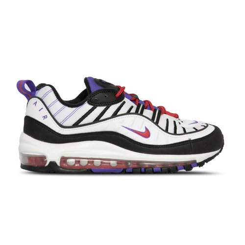 Air Max 98 White Black Psychic Purple 640744 110