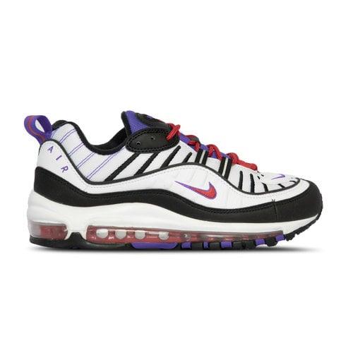 Air Max 98 White Black Psychic Purple 640744 110