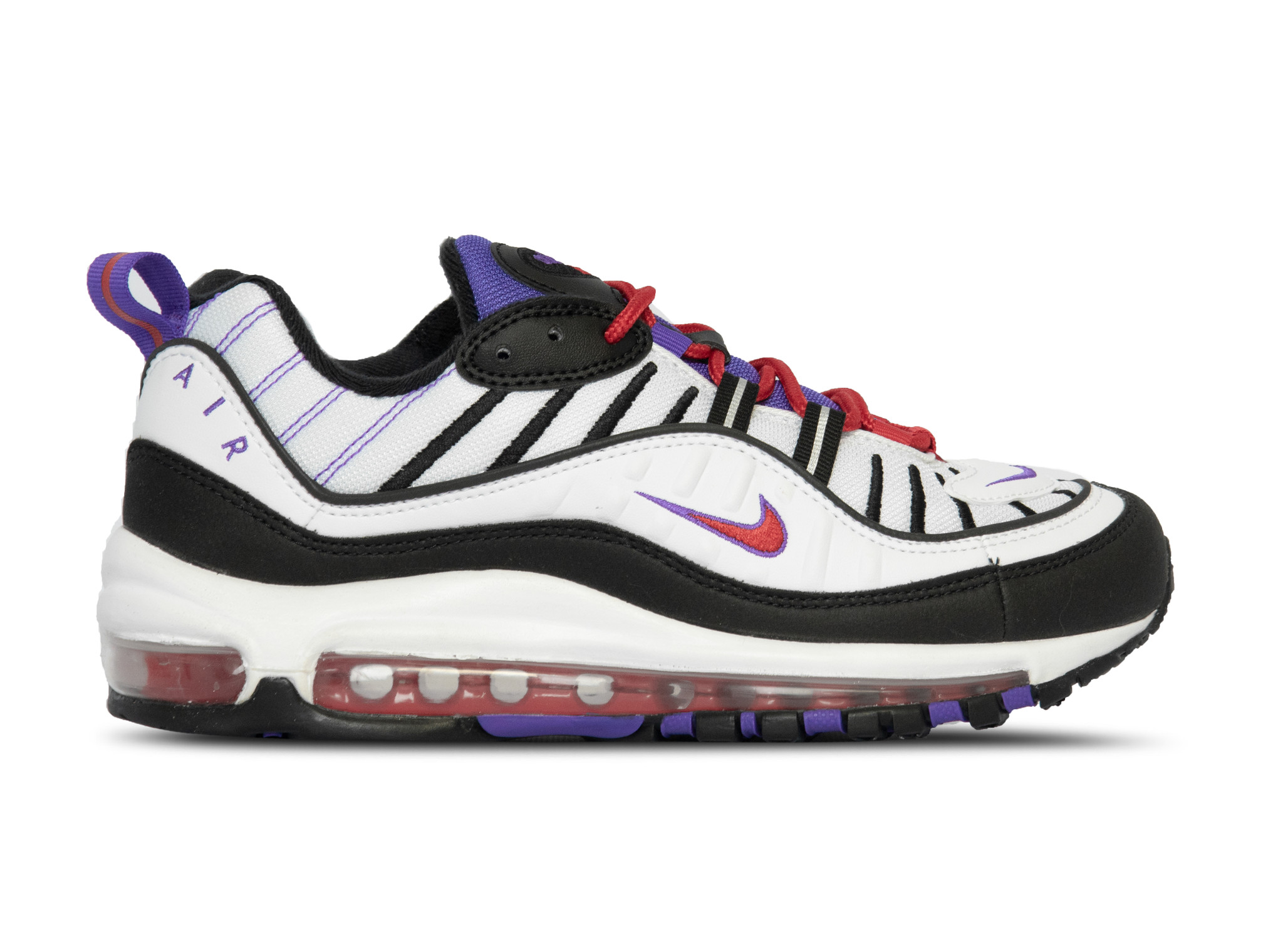 nike air max 98 white/black-psychic purple