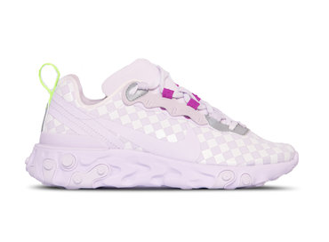 Nike WMNS React Element 55  Barely Grape Barely Grape CN0146 500