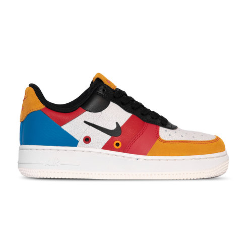 Air Force 1 07 Premium Sail Black Imperial Blue Amber Ris CI0065 101