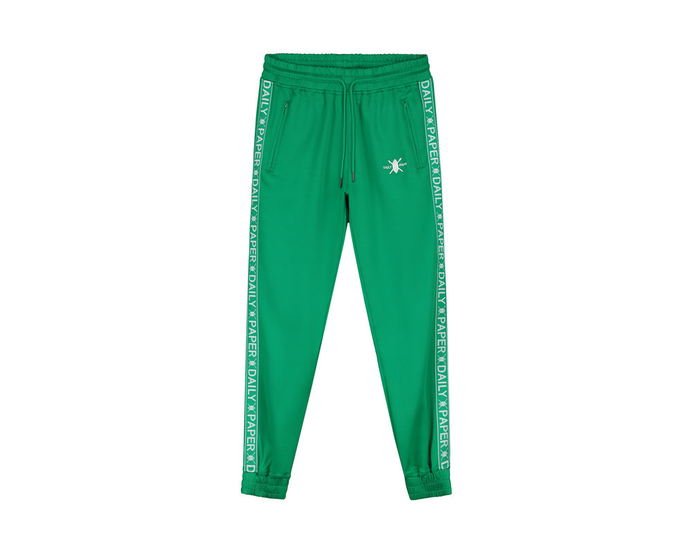 Daily Paper Tape Logo Track Pants Jolly Green 19E1PA02 03