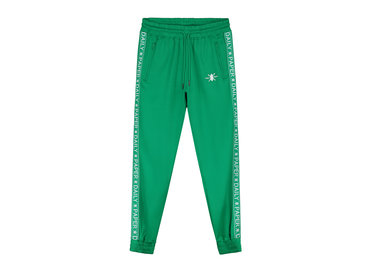 Daily Paper Tape Logo Track Pants Jolly Green 19E1PA02 03