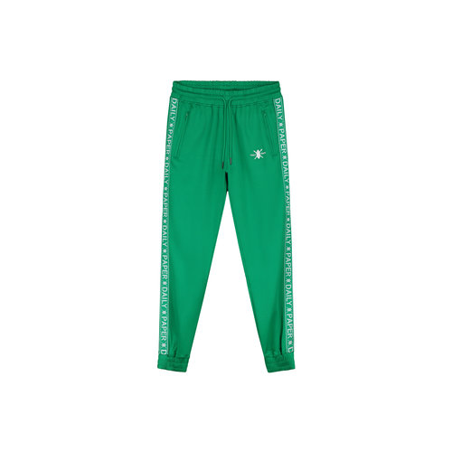 Tape Logo Track Pants Jolly Green 19E1PA02 03