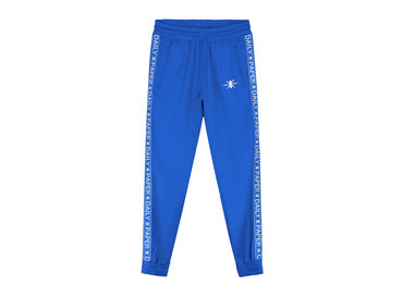 Daily Paper Tape Logo Track Pants Turkish Sea 19E1PA02 02