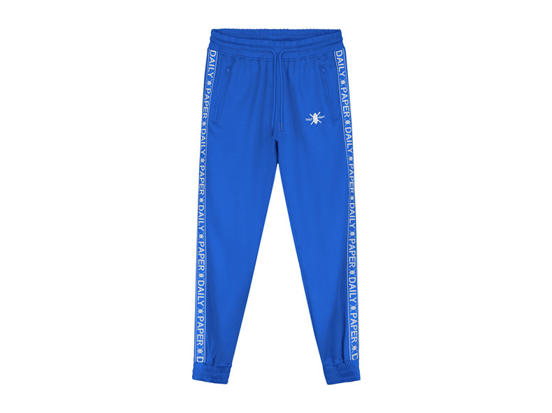 Tape Logo Track Pants Turkish Sea 19E1PA02 02