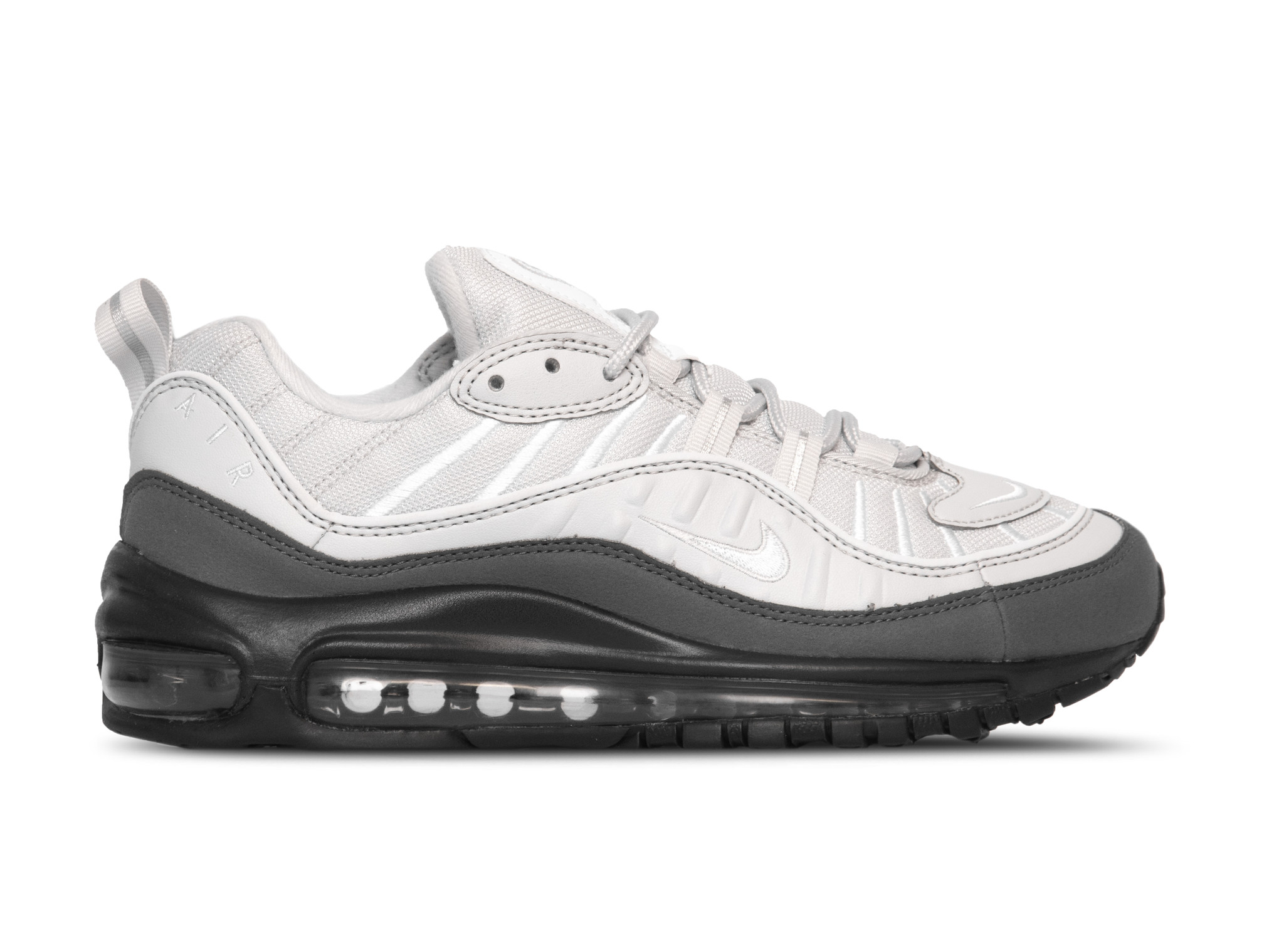 Nike Air Max 98 White White Vast Grey Dark Grey 640744 111 | Bruut Online  shop