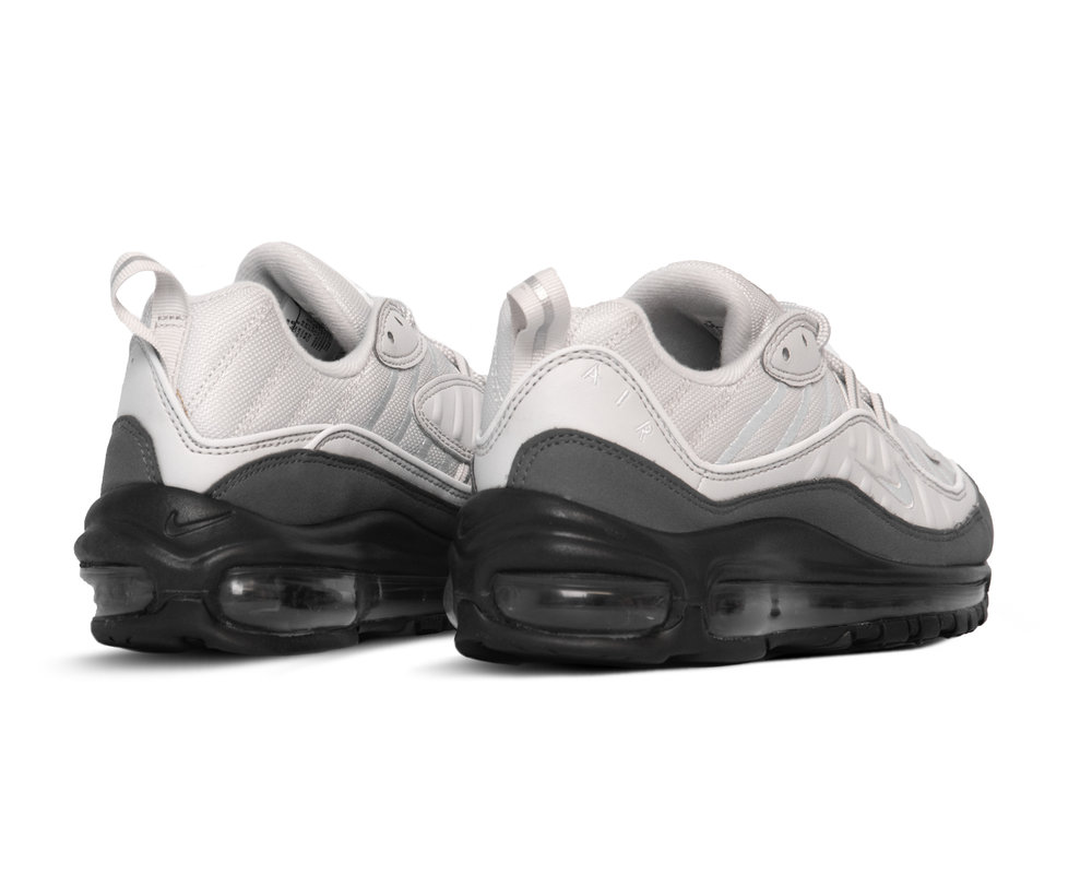 Nike Air Max 98 White White Vast Grey Dark Grey 640744 111