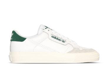 Adidas Continental Vulc Cloud White Collegiate Green EF3534
