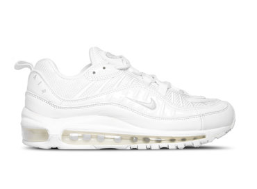 Nike Air Max 98 White Pure Platinum Black Blanc Noir  640744 106