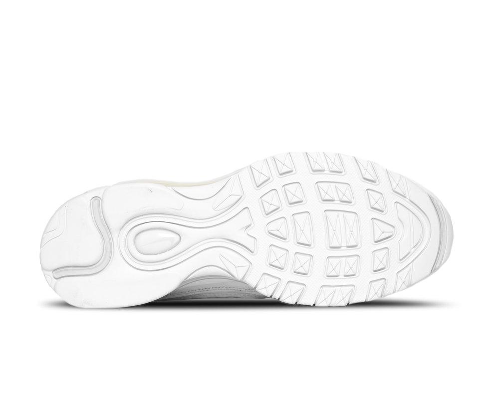 Nike Air Max 98 White Pure Platinum Black Blanc Noir  640744 106