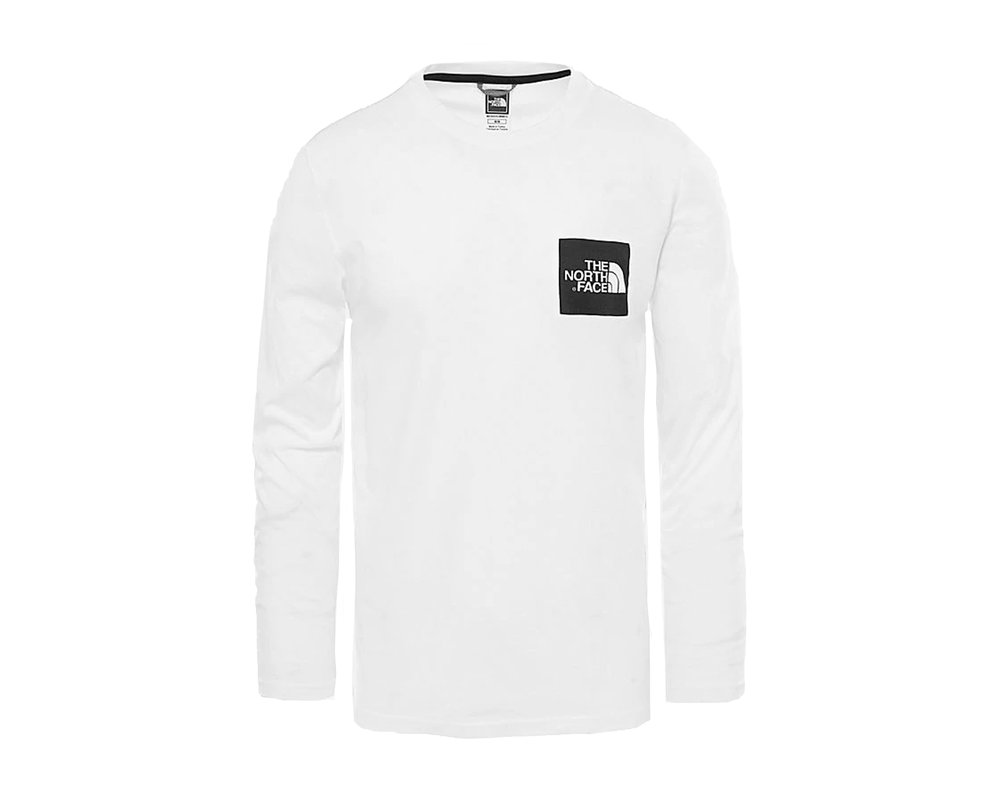 The North Face Fine Tee LS White T937FTFN4
