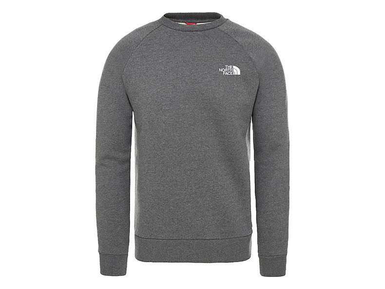 Raglan Redbox Crew TNF Medium Grey T93RZ2DYY
