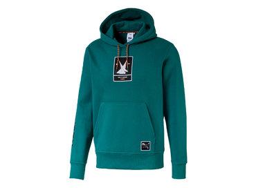 Puma x HH Hoodie Teal Green 597083 98