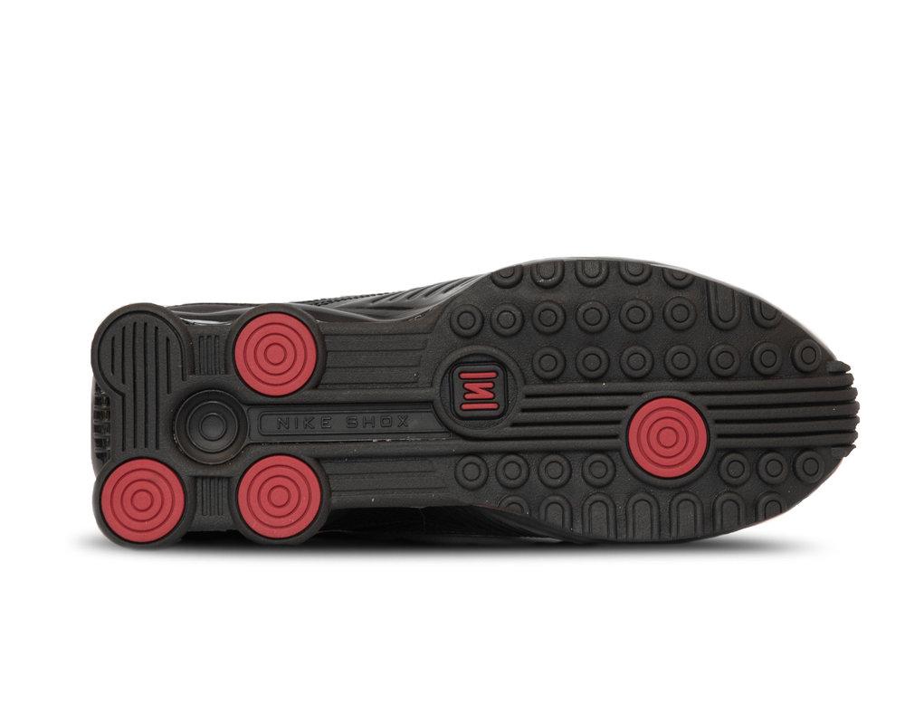 Nike Shox Enigma 9000  Black Antracite Cargo Khaki Gym Red BQ9001 002