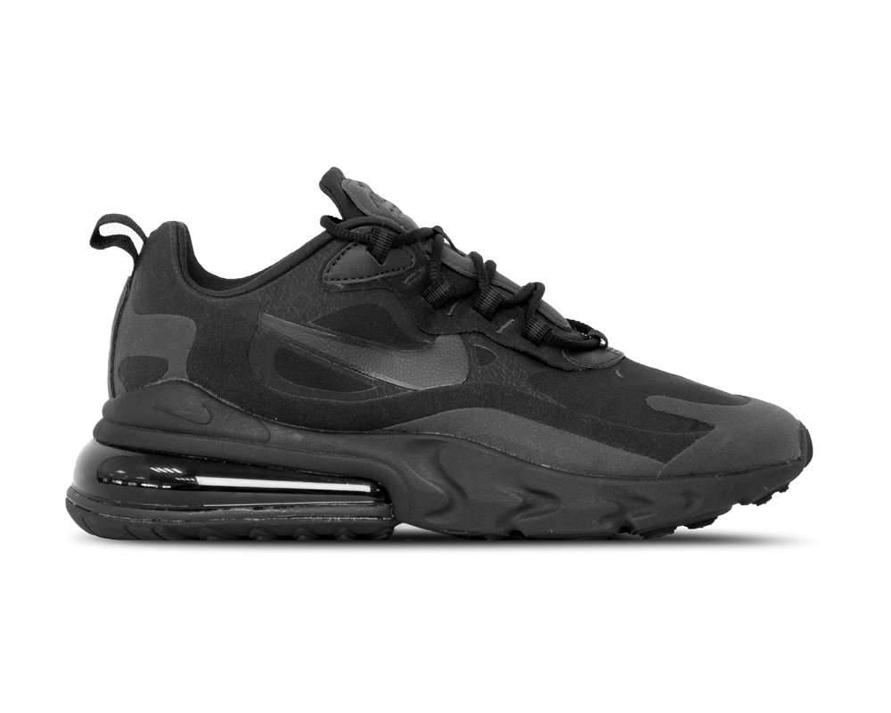 Nike Air Max 270 React Black Oil Grey Oil Grey Black AO4971 003