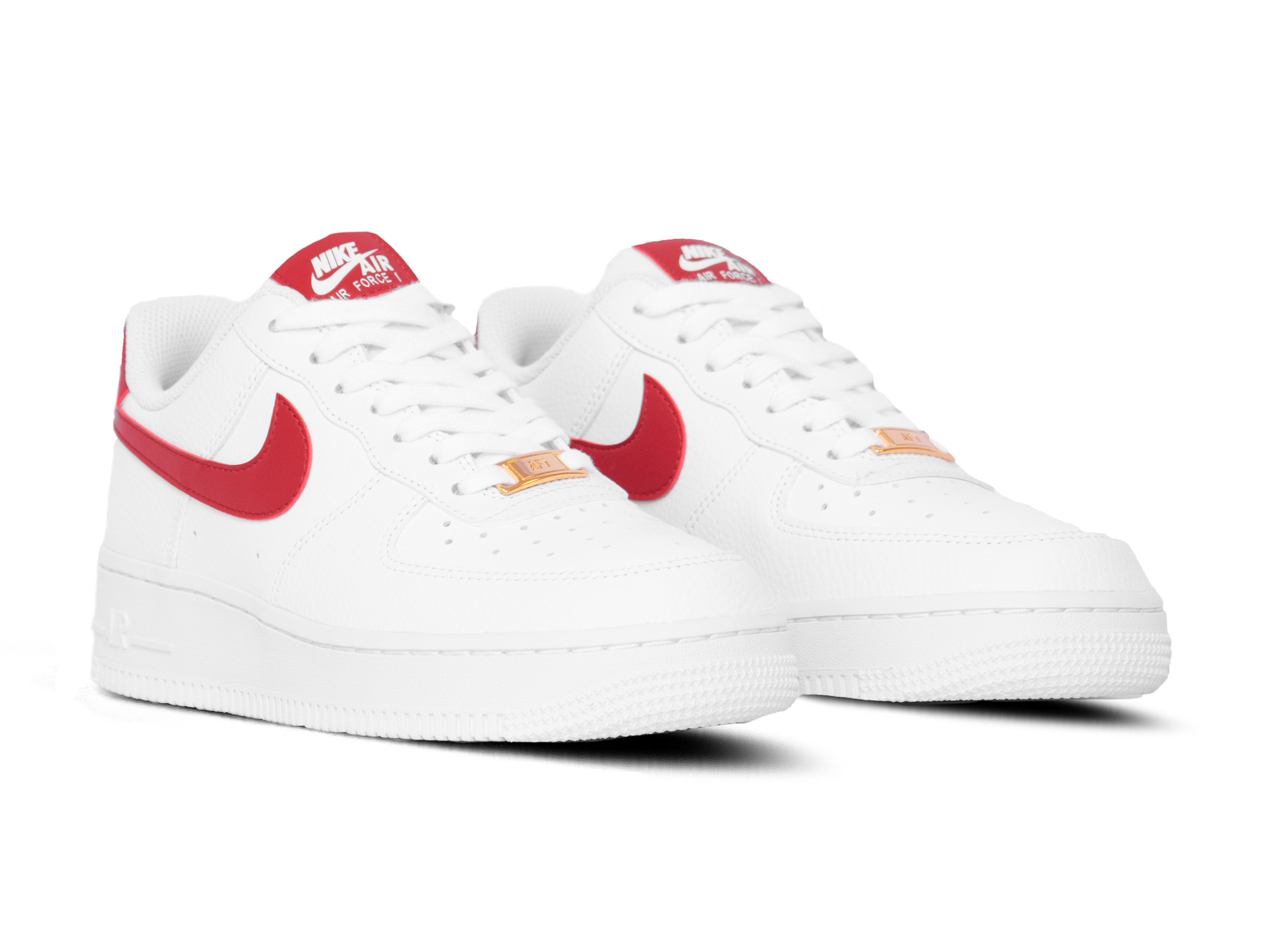 Nike WMNS Air Force 1 '07 White Gym Red Metallic Gold