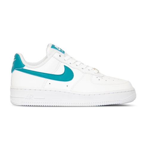 Air Force 1 07 White Teal Nebula Metallic Gold AH0287 109