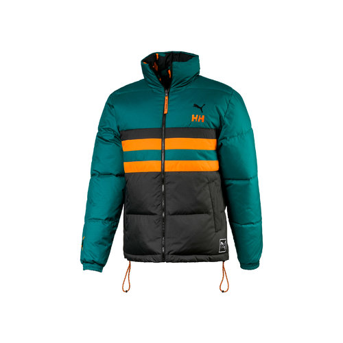 x HH Jacket Puma Teal Green AOP  597081 0098