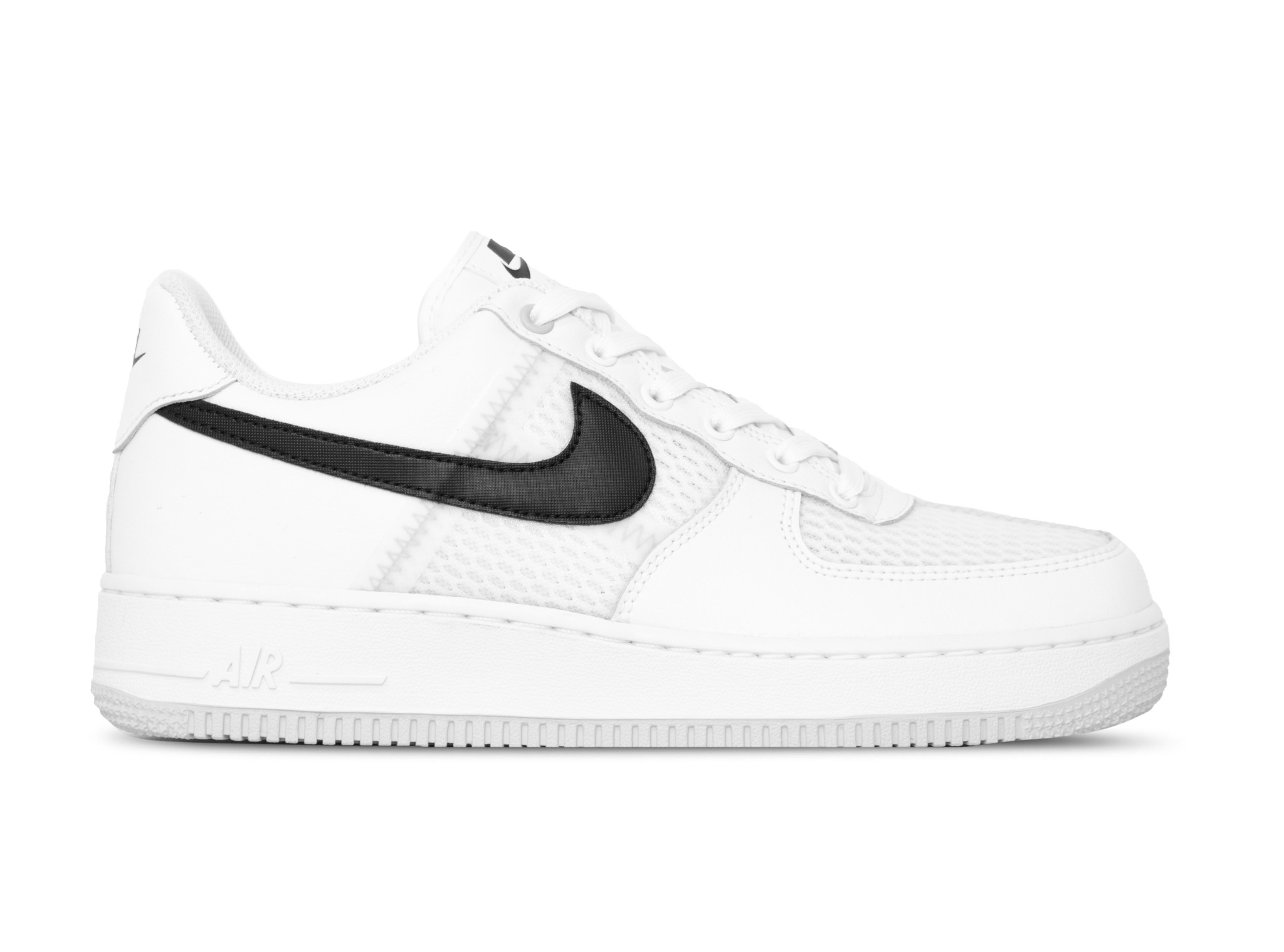 Nike Air Force 1 '07 LV8 White Black Pure Platinum CI0060 100 | Bruut