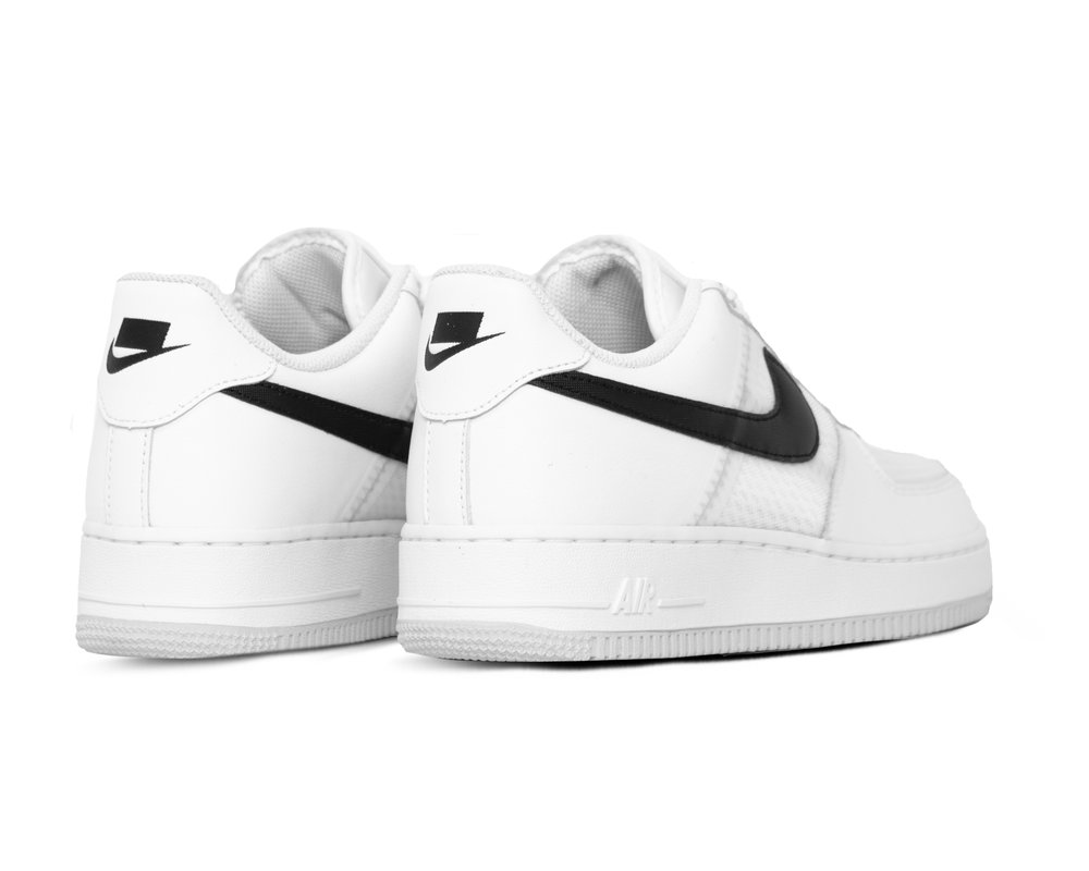 Nike Air Force 1 '07 LV8 White Black Pure Platinum CI0060 100