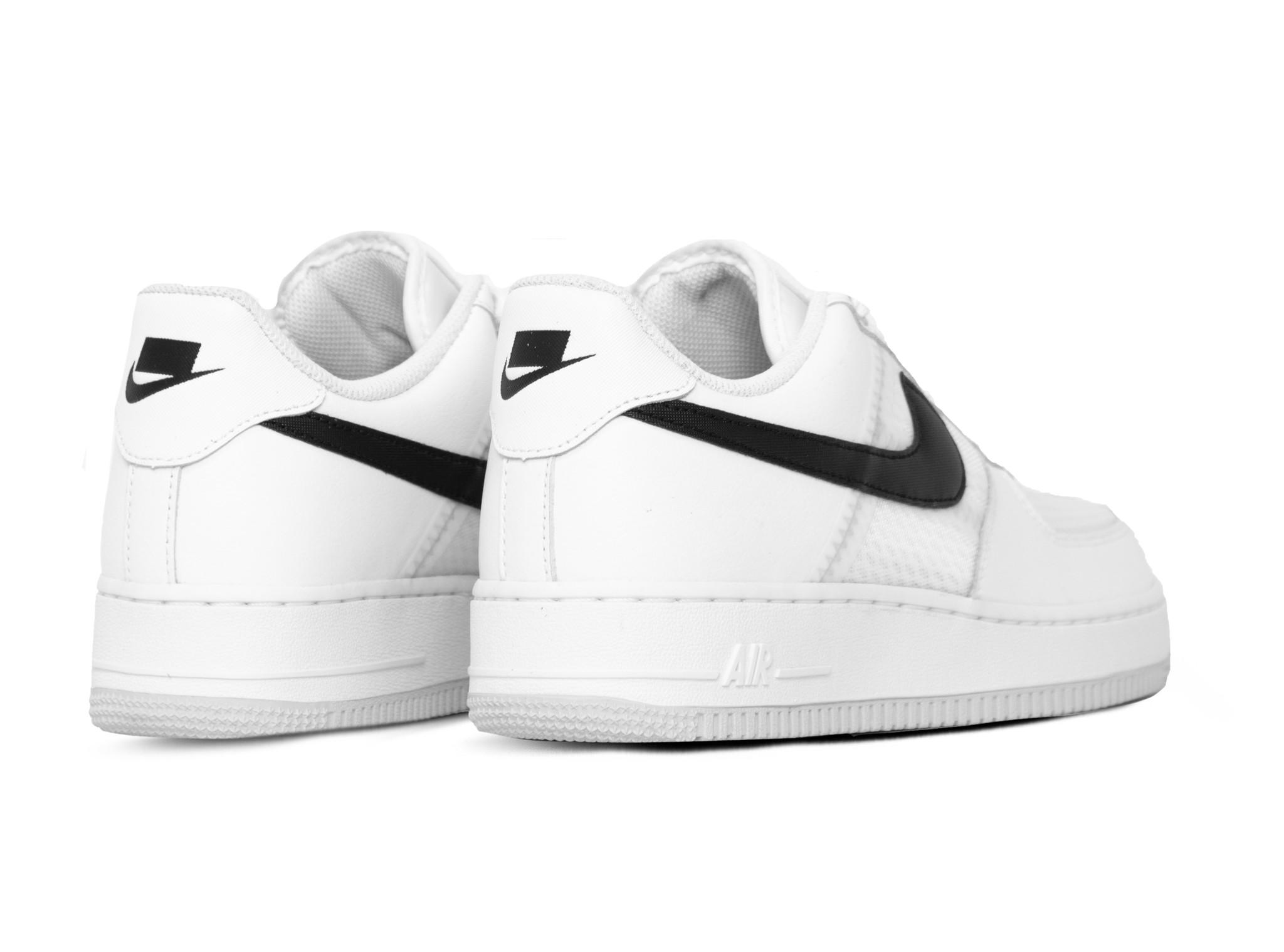 Nike Air Force 1 '07 LV8 White Black Pure Platinum CI0060 100