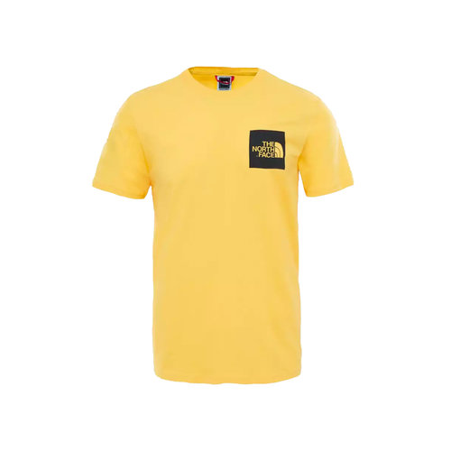 Fine Tee TNF  Yellow T0CEQ570M