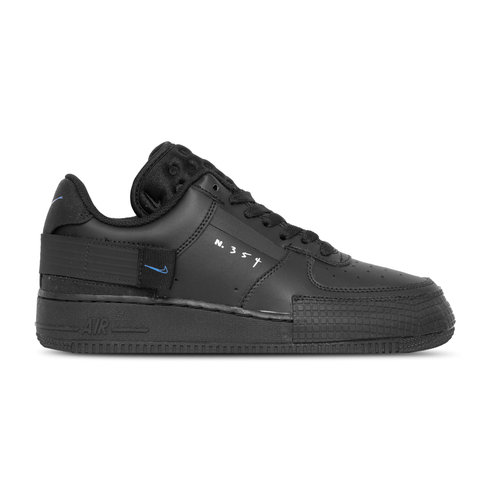 Air Force 1  Type Black Photo Blue  Platinum Tint  AT7859 001